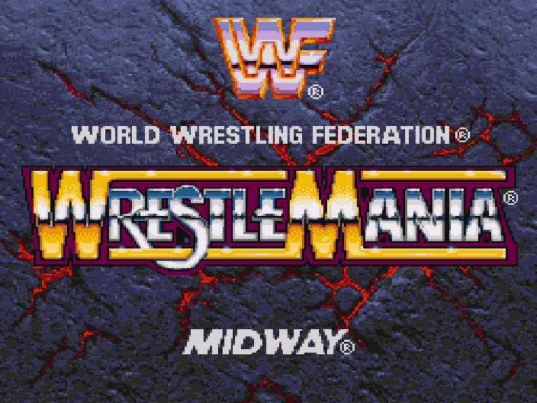 [LOOSE TEST] WWF Wrestlemania : The Arcade Game